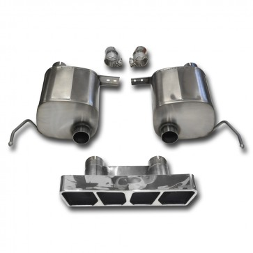 C7 Corvette Stingray Exhaust - CORSA EXTREME Valve-Back Performance Exhaust System : Polished Poly Tip