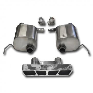 C7 Corvette Stingray Exhaust - CORSA SPORT Valve-Back Performance Exhaust System : Polished Poly Tip
