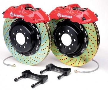 Brembo Carrera 2S 6 Piston Big Brake Kit- Front