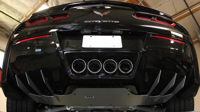 c7 corvette stingray 2014 2015 exhaust diffuser from borla. Black Bedroom Furniture Sets. Home Design Ideas