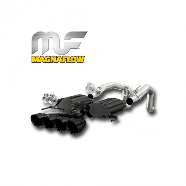 Corvette Stingray Exhaust System - Magnaflow Axle-Back