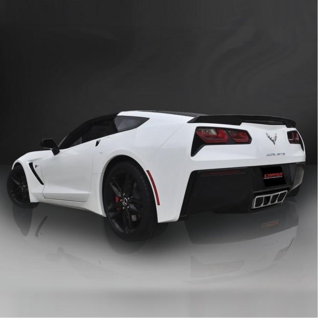 corsa extreme exhaust for c7 corvette lg motorsports. Black Bedroom Furniture Sets. Home Design Ideas
