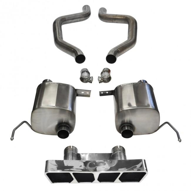 c7 z06 corvette corsa sport axle back exhaust lg motorsports. Black Bedroom Furniture Sets. Home Design Ideas