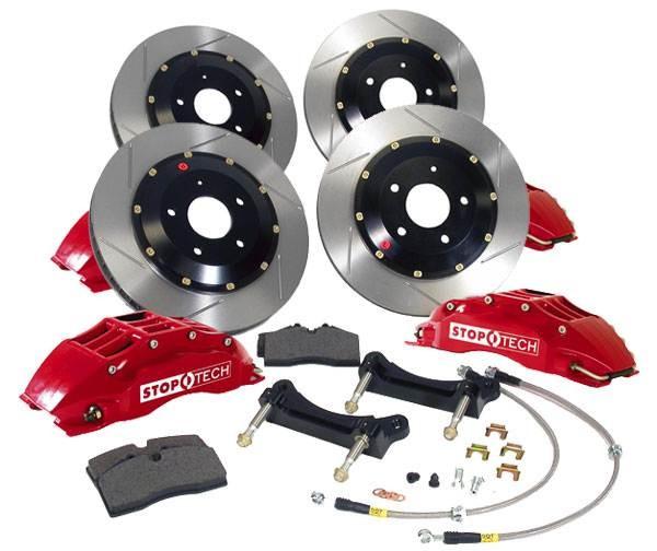 Stoptech Big Brake Kit For 2010 Camaro Ss Rear Lg