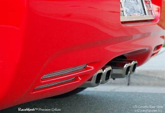 C5 Corvette Rear Muffler Vent Inserts C5 Exterior Corvette C5 Parts 1997 2004 Lg Motorsports