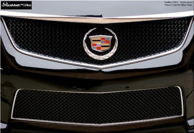 Cadillac CTS-V (2009 - 2014) Upper Grill & Lower Valance