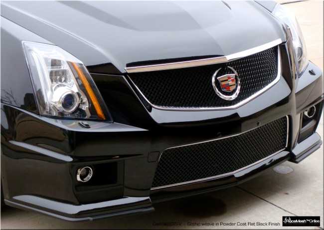 2014 Cadillac Cts Accessories >> Cadillac CTS-V (2009 - 2014) Upper Grill & Lower Valance - LG Motorsports