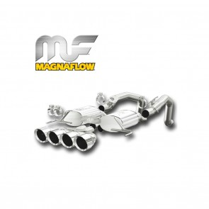 Corvette Stingray Exhaust System - Magnaflow Axle-Back Performance Exhaust System