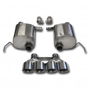 "C7 Corvette Stingray Exhaust - CORSA EXTREME Valve-Back Performance Exhaust System : Quad 4.50"" Round Tips"