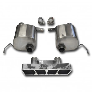 C7 Corvette Stingray Exhaust - CORSA SPORT Valve-Back Performance Exhaust System : Polished Poly Tip