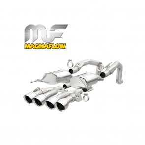 Corvette Stingray Exhaust System - Magnaflow Axle-Back Performance Exhaust System : Street Series