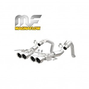 Corvette Stingray Exhaust System - Magnaflow Axle-Back Performance Exhaust System : Competition Series