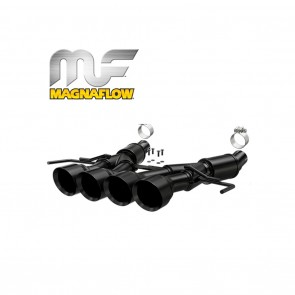 Corvette Stingray Exhaust System - Magnaflow Axle-Back Performance Exhaust System : Competition Series Black