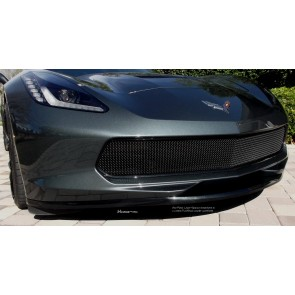 Corvette C7 Stingray (2014 - ) One-Piece Lower Valance - Flat Black