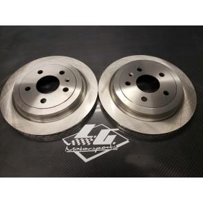 LG C7 Drag Kit Brake Rotors