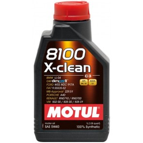 Motul X-Clean 5w40 Engine oil