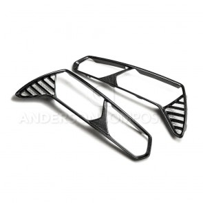 C7 Corvette Carbon Fiber Taillight Bezels (Pair)