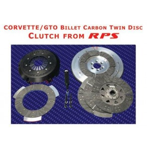 RPS Billet Carbon Twin Disk Clutch - 2010 Camaro