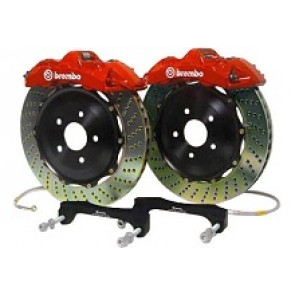 Brembo Carrera 2S 4 Piston Big Brake Kit- Rear