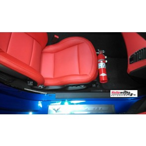 Corvette C7 Fire Extinguisher Bracket (2014 to Current)