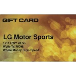 LG Motorsports Gift Card