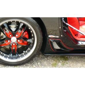 C5 Z05 Corvette Rear Brake Ducts