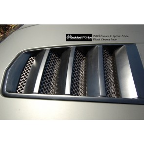 Camaro 1SS & 2SS  (2014 - 2015) Hood Vent - Gothic Style Shown
