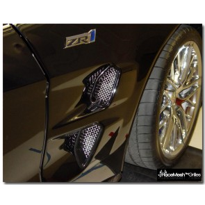 C6 ZR1 Corvette Front Fender Ducts