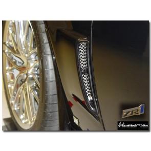 C6 Corvette ZR1 Rear Fender Ducts