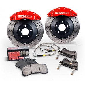 C7 Corvette StopTech Big Brake Kit Front and Rear (2014+)