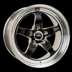 "Weld Racing 17"" RTS Wheels, C5 Rear"