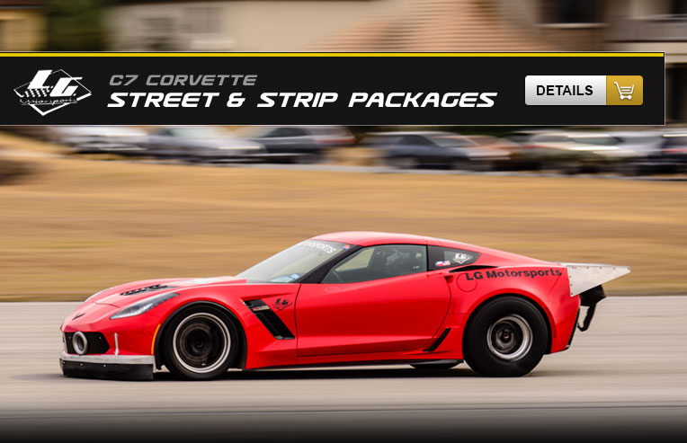 C7 Street & Strip Packages