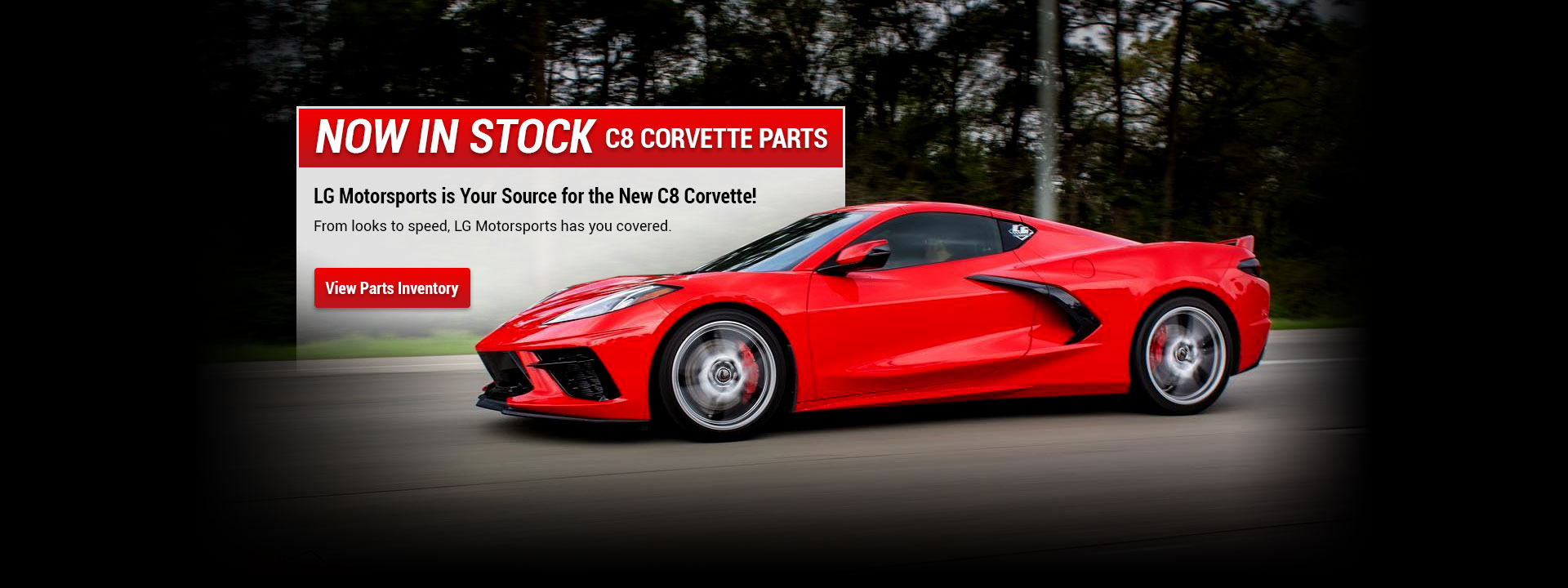 Corvette C8 Parts